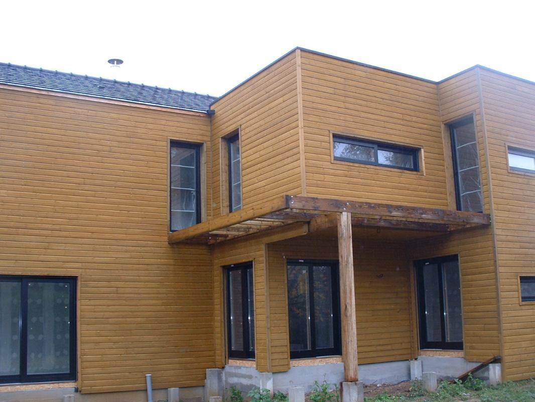 Maison ossature bois auxerre entreprise franck catoire for Entreprise ossature bois