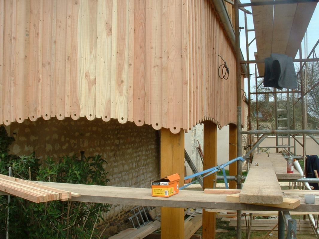 Maison ossature bois auxerre entreprise franck catoire