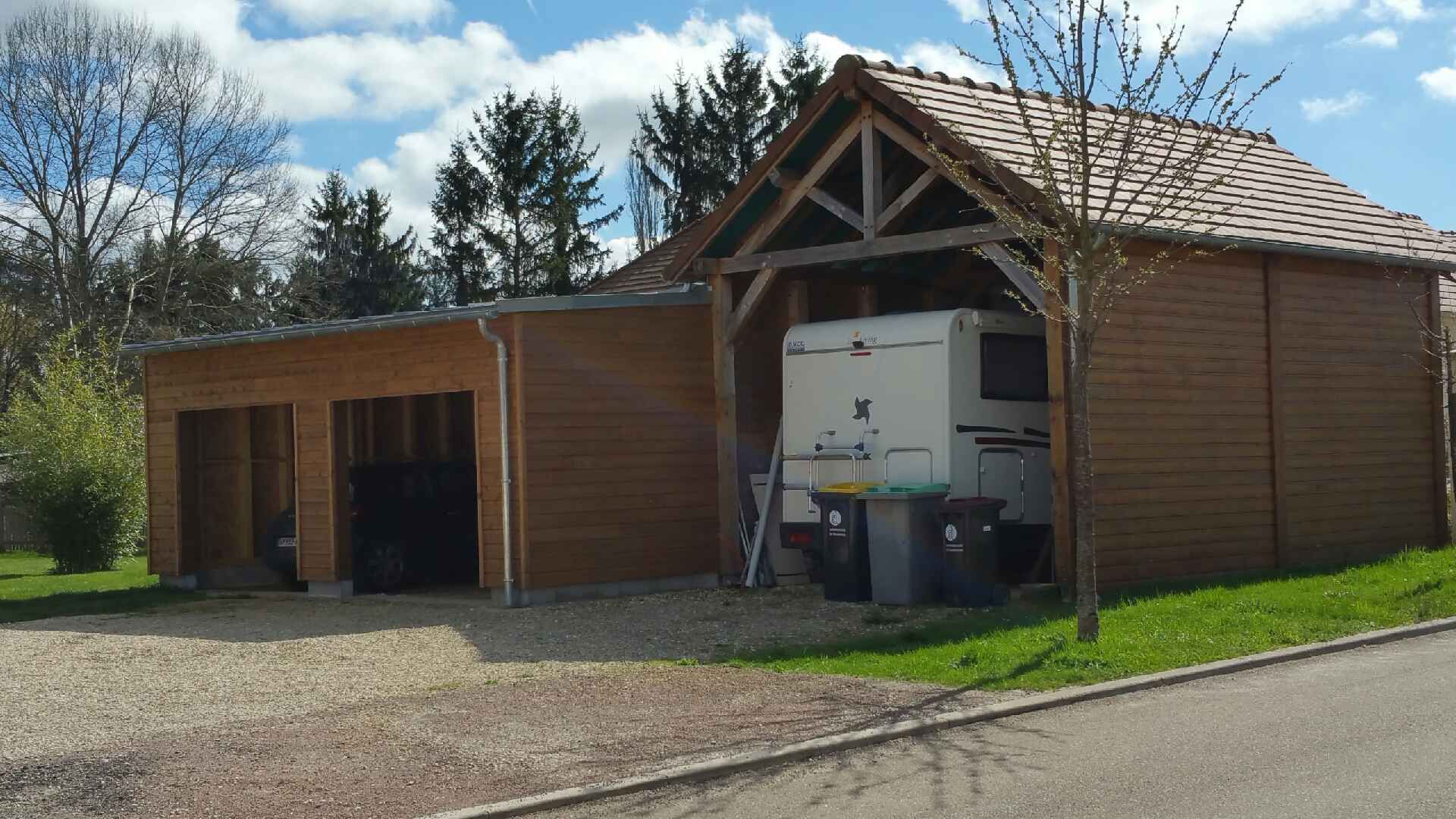 Maison ossature bois auxerre entreprise franck catoire charpentier